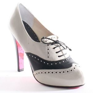 Betsey Johnson Oxford Heels